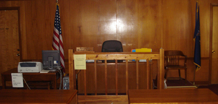 Tupper Lake Police Department, Tupper Lake, NY 12986, Court Room