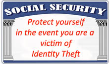 Tupper Lake Police Department - Identity Theft Information